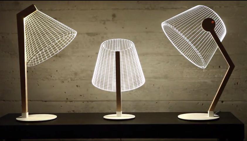 LAMPE 2D IMPRESSION 3D