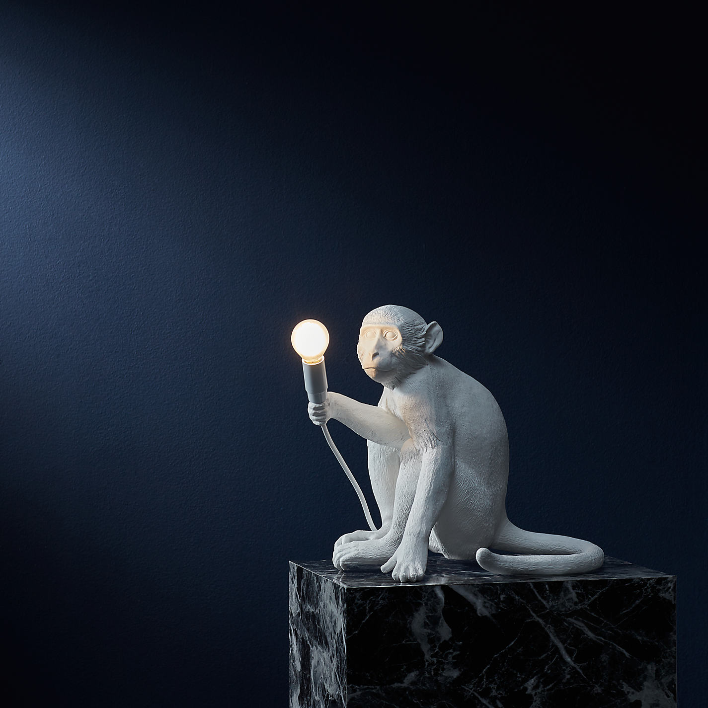 MONKEY LIGHT SITTING BY SELETTI