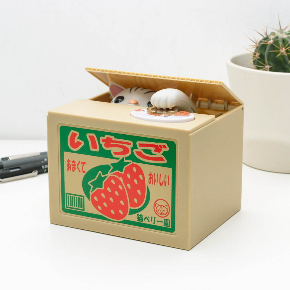 COIN BOX KITTY