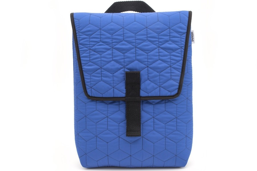 BACKPACK QUILTED BLUE